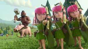 clash of clans archer queen clash of clans wallpaper u203a heroes units city wallpaper and artworks