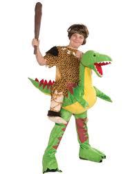 dinosaur toddler halloween costume kids riding dinosaur cave boy stone age mascot costume 1 size fits