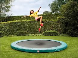 Backyard Gymnastics Equipment Backyard In Ground Trampoline U2014 Indoor Outdoor Homes Diy In
