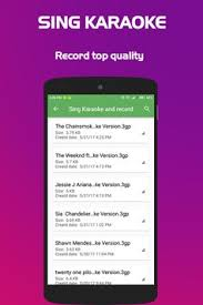 sing karaoke apk sing karaoke record apk free entertainment app for