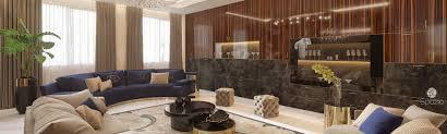 villa interior design in dubai spazio
