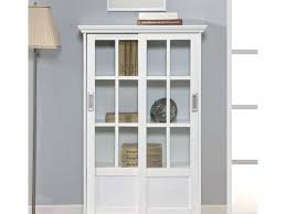 Mahogany Bookcase With Glass Doors Bookshelf With Glass Doors And Lock Doherty House Bookcase