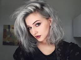 trend hair color 2015 trends celebrity hairstyles granny hair trends color with side shaved