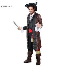 Jack Sparrow Halloween Costume Kimring Caribbean Pirate Halloween Costume Man Grand