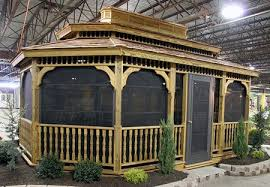 alans plans com gazebo kits from alans factory outlet gardens and backyards