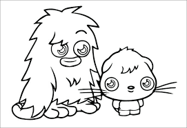 Monster Coloring Pages To Print Monsters Coloring Pages Small Small Coloring Pages