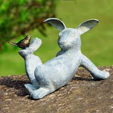 25 and animal garden statues bunny gardens and