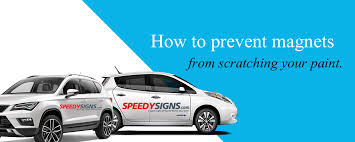 how to keep a car magnet from flying the speedysigns