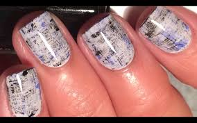 easy nail art dry brush technique seriously so simple youtube