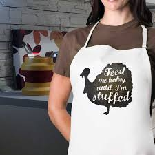 feed me turkey until i m stuffed thanksgiving apron jonley gifts