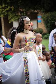 traditional wedding zulu traditional wear inspired white wedding gown afro me