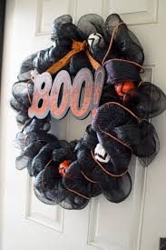 Halloween Wreath Diy Halloween Wreath Colorado Anne