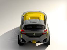 renault concept renault kwid concept baby suv revealed photos 1 of 18