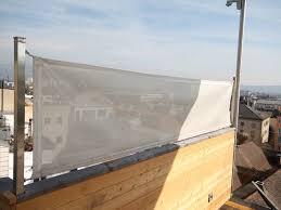 windschutz balkon stoff sunnysail windschutz