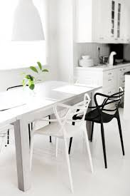 Black And White Dining Room Chairs Stunning Black And White Dining Room Chairs Images Home Design