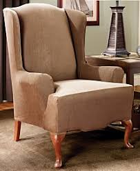 Slipcover Wing Chair Wing Chair Slip Covers Macy U0027s