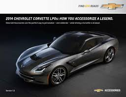 2014 c7 stingray limited production options revealed corvette online