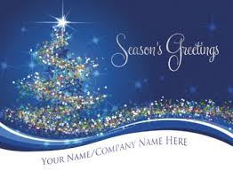 personalised christmas cards office supplies expert