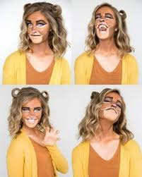Lion King Halloween Costume Rafiki Lion King Themed Makeup Costume Fall Halloween