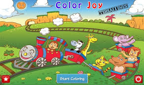 train coloring book kids android apps google play