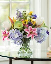 wedding flowers m s table agreeable nature inspired silk flower arrangements at petals
