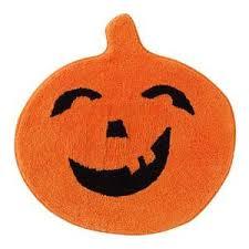 Funky Bathroom Rugs Pumpkin Bath Rug Orange Bathroom Mat Pumpkin