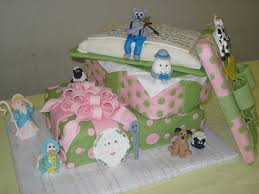 nursery rhyme baby shower cake cakecentral com