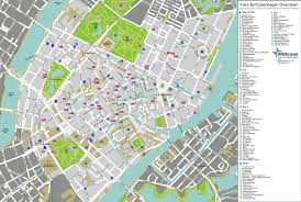 map of copenhagen maps update 18201224 tourist map of copenhagen large detailed