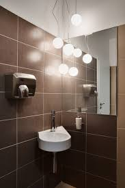 Office Bathroom Decorating Ideas Beautiful Round Wal Mirror With Simple Frame For Modern Bathroom