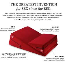 Spice Things Up In The Bedroom Amazon Com Liberator Bedroom Adventure Gear Wedge Ramp Combo Red