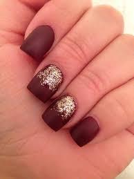 matte burgundy deep red nails makeup pinterest deep red