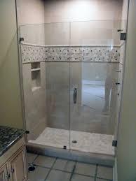 Shower Door Tub Glass Shower Door Tub Bronze Door Handles Curved Chrome Finish