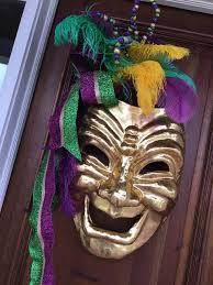 large mardi gras mask the uptown acorn mardi gras chateau lapeyre