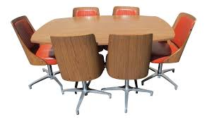 chromcraft dining room furniture vintage 1967 chromcraft dinnette 7 pieces chairish