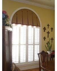 Curtain Ideas For Curved Windows Bedroom Arch Window Treatments Windows Half Moon Windows