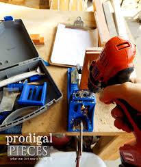 diy butcher block cart prodigal pieces kreg pocket hole jig for diy butcher block cart by prodigal pieces prodigalpieces com