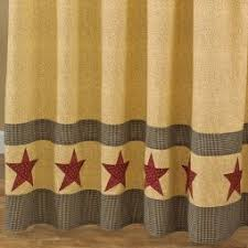 Country Shower Curtain Primitive Country Style Shower Curtains