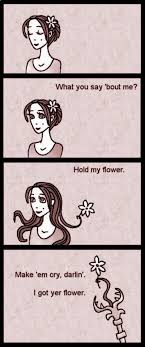 Hold My Flower Meme - hold my flower by dark precipice on deviantart