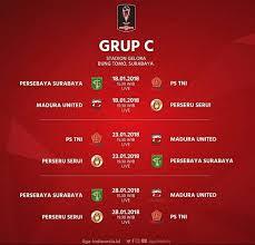 Jadwal Piala Presiden 2018 Ini Jadwal Bermain Lengkap Persebaya Di Piala Presiden 2018 D