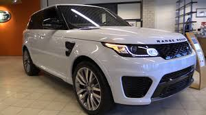 2016 land rover range rover interior land rover range rover sport svr 2017 start up exhaust in depth