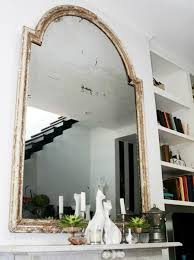 Large Living Room Mirror by Living Rooms Genevieve Gorder Whitewashed Mirror Fireplace