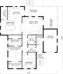New Style House Plans Ground Floor Plan Floorplan House Home Stock Vector 74222734