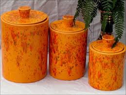 copper kitchen canister sets kitchen kitchen canisters pottery canister sets 3