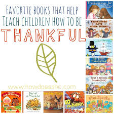 thanksgiving books to help teach your child to be thankful