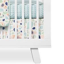 Babyletto Mini Crib Reviews by Babyletto Fleeting Flora Crib Skirt Free Shipping 47 00