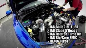 cosworth subaru engine iag performance 570hp sti daily driver youtube