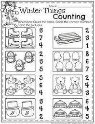january preschool worksheets