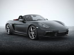 boxster porsche 2017 new 2017 porsche 718 boxster price photos reviews safety