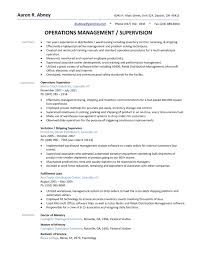 supervisor resume templates warehouse supervisor resume the best resume warehouse resume