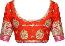 blouse designs gota patti work blouse designs fashionworldhub